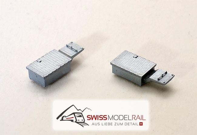 Weichenantrieb / Weichenmotor modern H0