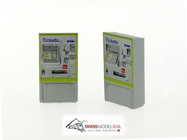 Billettautomat BLS H0 (Neuheit 2021)