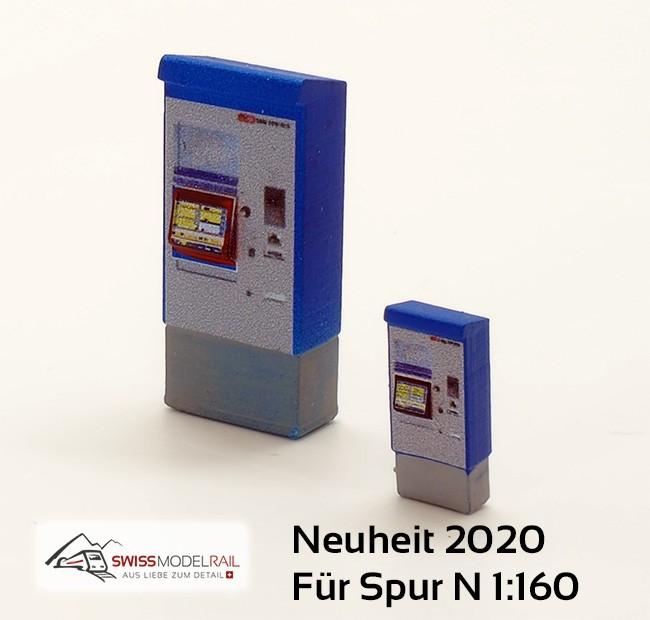 Billettautomat RhB/SBB modern (Spur N) Neuheit 2020