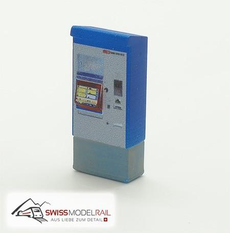 Billettautomat RhB/SBB modern H0