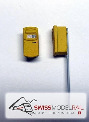 Briefkasten modern gross H0