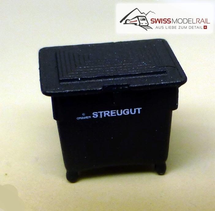 Streugut Container schwarz (H0)