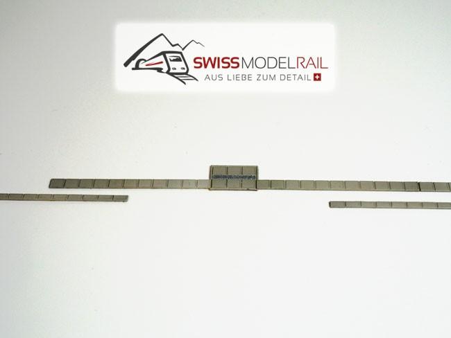 Kabelkanal Modern Set H0