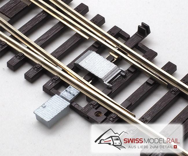 Weichenverschlussdeckel für Roco Line H0