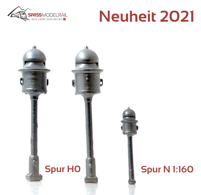 Läutwerk Schweiz Spur N 1:160 2 Stk (Neuheit 2021)