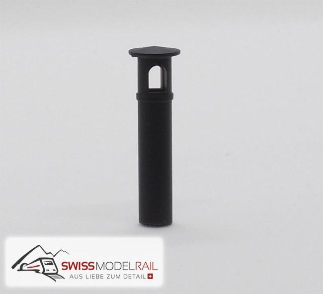 Kamin Typ 9 Lokschuppen (H0)