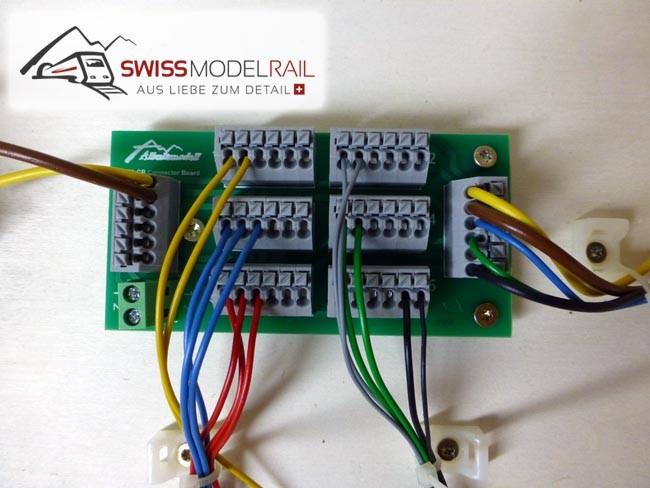Anschlussplatte / Stromverteiler