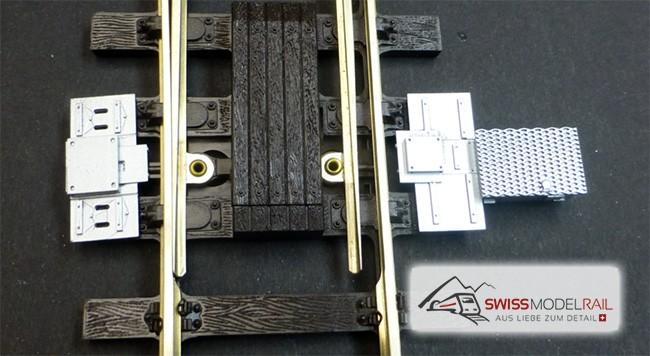Weichenantrieb / Weichenmotor modern Spur 0