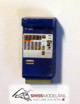 Billetautomat RhB/SBB blau H0