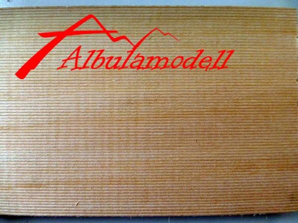 Holzplatten 1.25mm Rillen (H0)