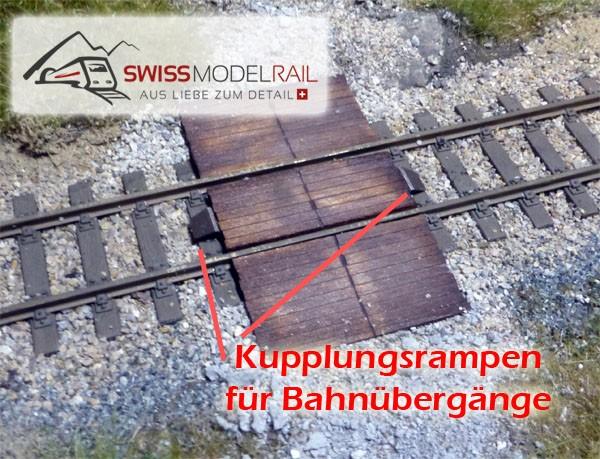 Kupplungsrampen / Kupplungsschutz (H0)