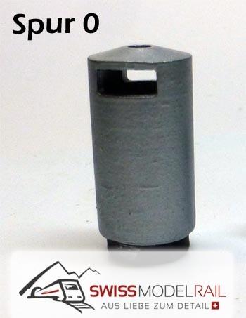 Abfalleimer Variante 2 Rund (Spur 0)