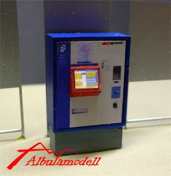 Billetautomat SBB breit H0