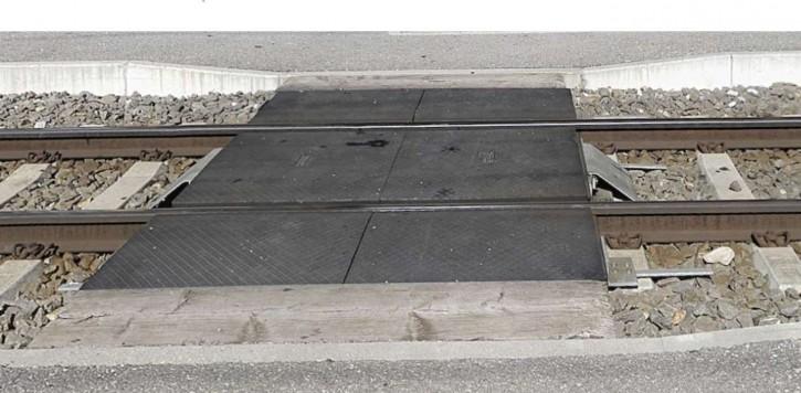 Gleis/Perron Übergang STRAIL modern (H0m)