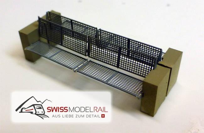 """Bank Typ """"Rail"""" H0 (Bausatz, 2 Stück)"""