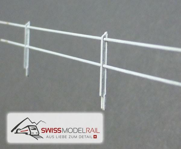 Metall Zaun L Profil H0 (50 cm)
