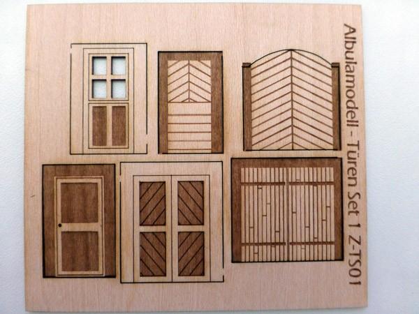 Türen Set 1 (H0)