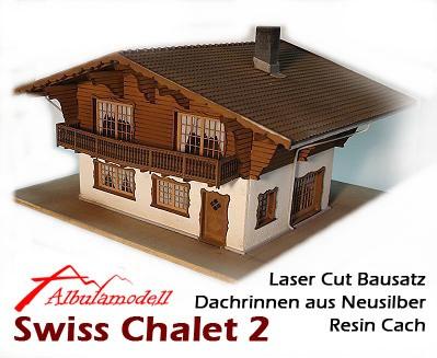Chalet Typ 2 Bausatz (H0)