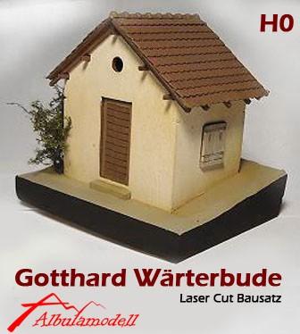 Wärterbude Gotthard Alt Typ1 Bausatz (H0)