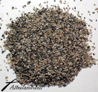 Kalkstein Schotter grau-braun (RhB) fein/TT