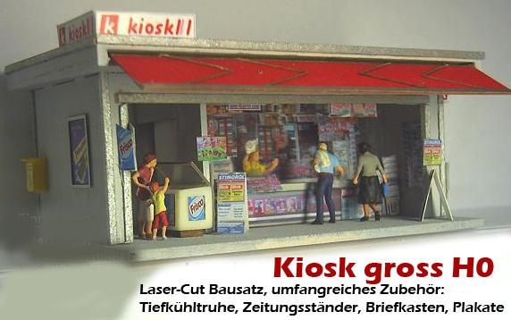 Kiosk Schweiz gross (H0)
