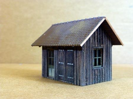 ger teschuppen gartenhaus h0 bausatz laser cut. Black Bedroom Furniture Sets. Home Design Ideas