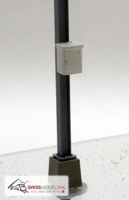 Elektrokasten für Mastmontage (2 Stück, H0)