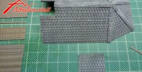 Dachziegel Eternit schmal (Laser-cut)