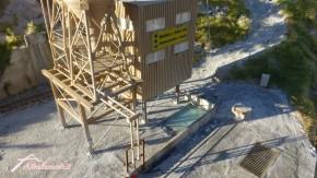 Kieswerk Betonmischwerk und Siloanlage BKU (H0)