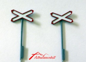 Andreaskreuz H0