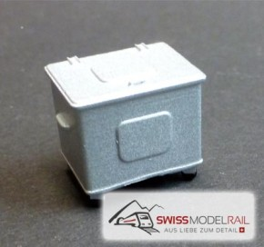 Container Schweiz Norm, 800 L (H0)