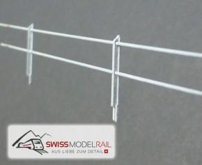 Metall Zaun T Profil H0 (50 cm)