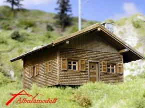 Berghütte / Waldhütte Schweiz (H0)